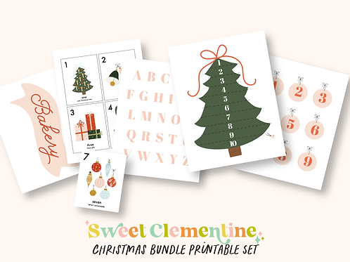 Download + Print | Christmas Activity Bundle