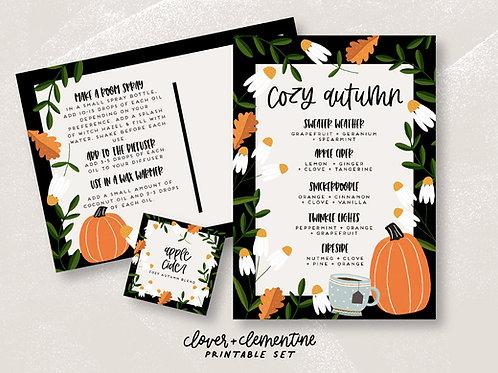 Cozy Autumn | Fall Blends