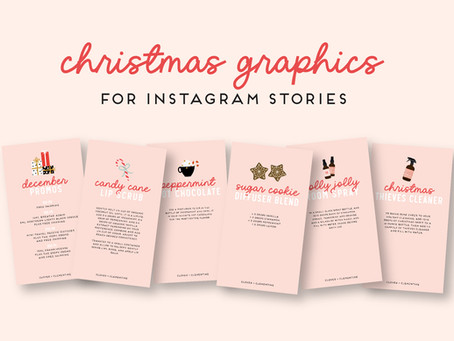 Freebie Christmas + December Promo Graphics