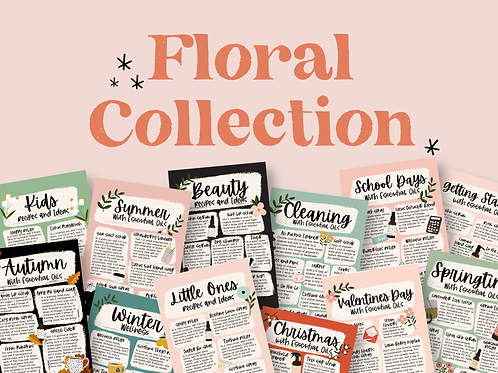Floral Collection Bundle | Collection of Printable Cards, Stickers, and more!
