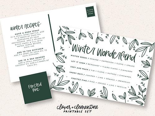 Winter Wonderland | Printable Set