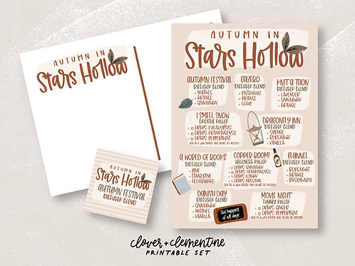 Autumn in Stars Hollow | Fall Set