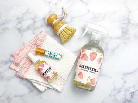 Freebie Friday: Summer Cleaner Labels