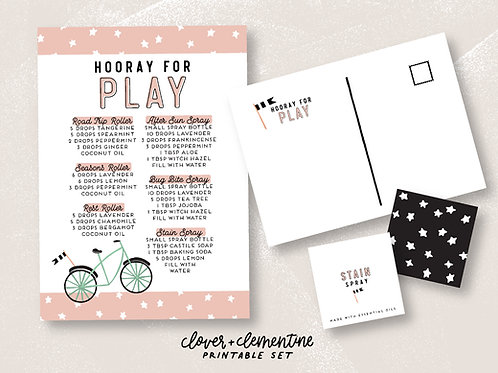 Hooray for Play Set | Download + Print