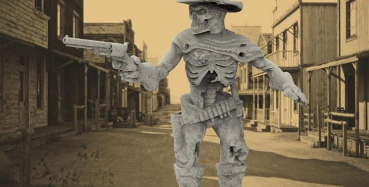 Undead Cowboy Gunfighter