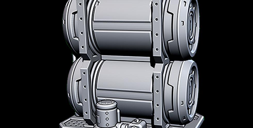 Spaceport Fuel Tanks