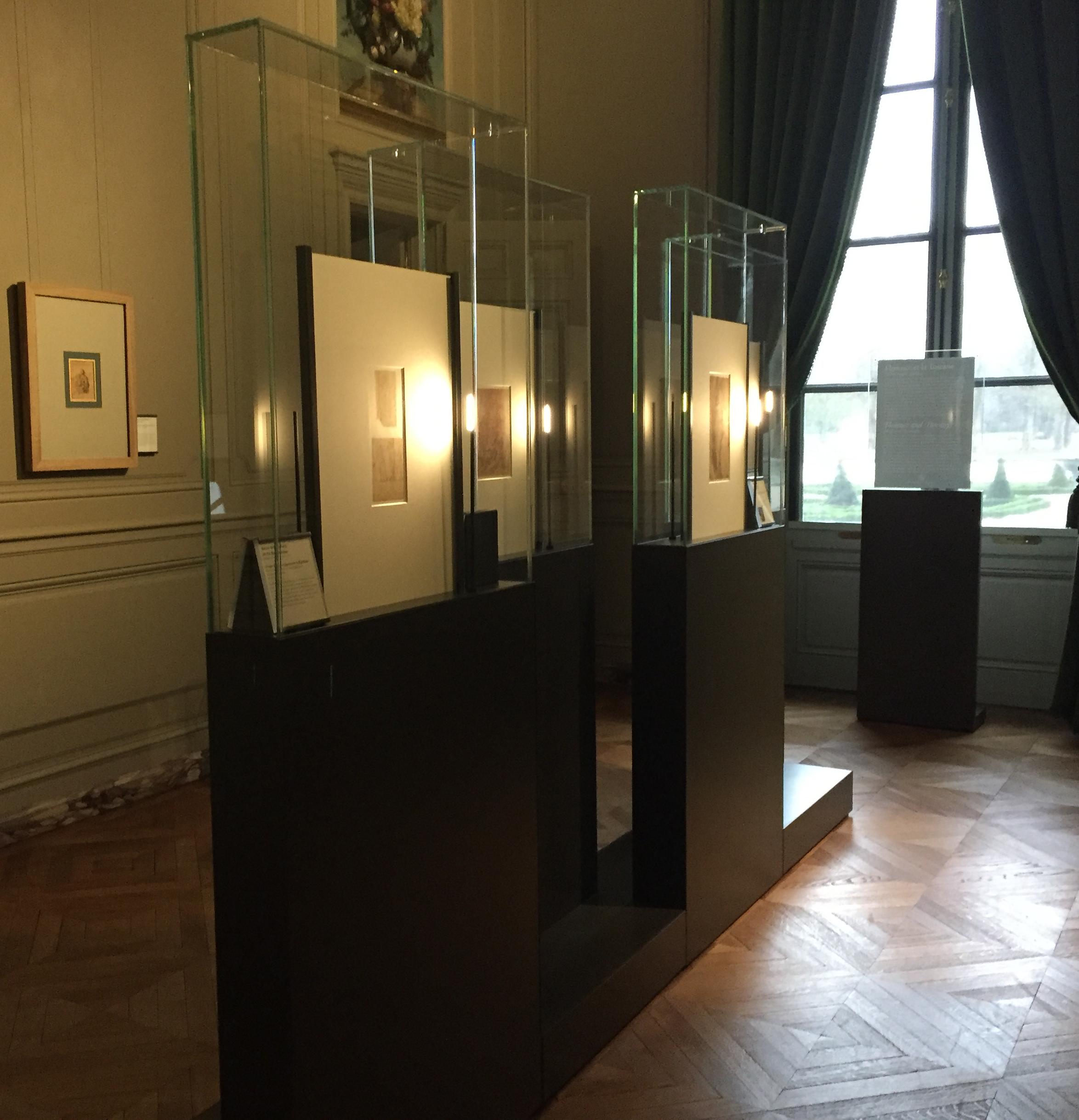 Cahier des charges des vitrines