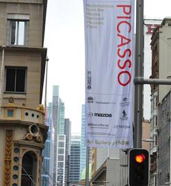 Picasso Exhibition Tour 2008-2012