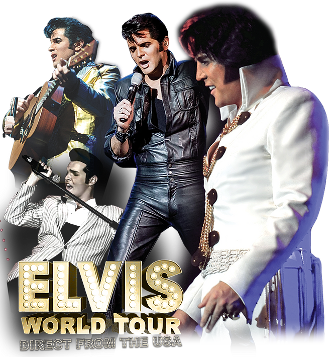 Shawn Klush The Elvis World Tour  May