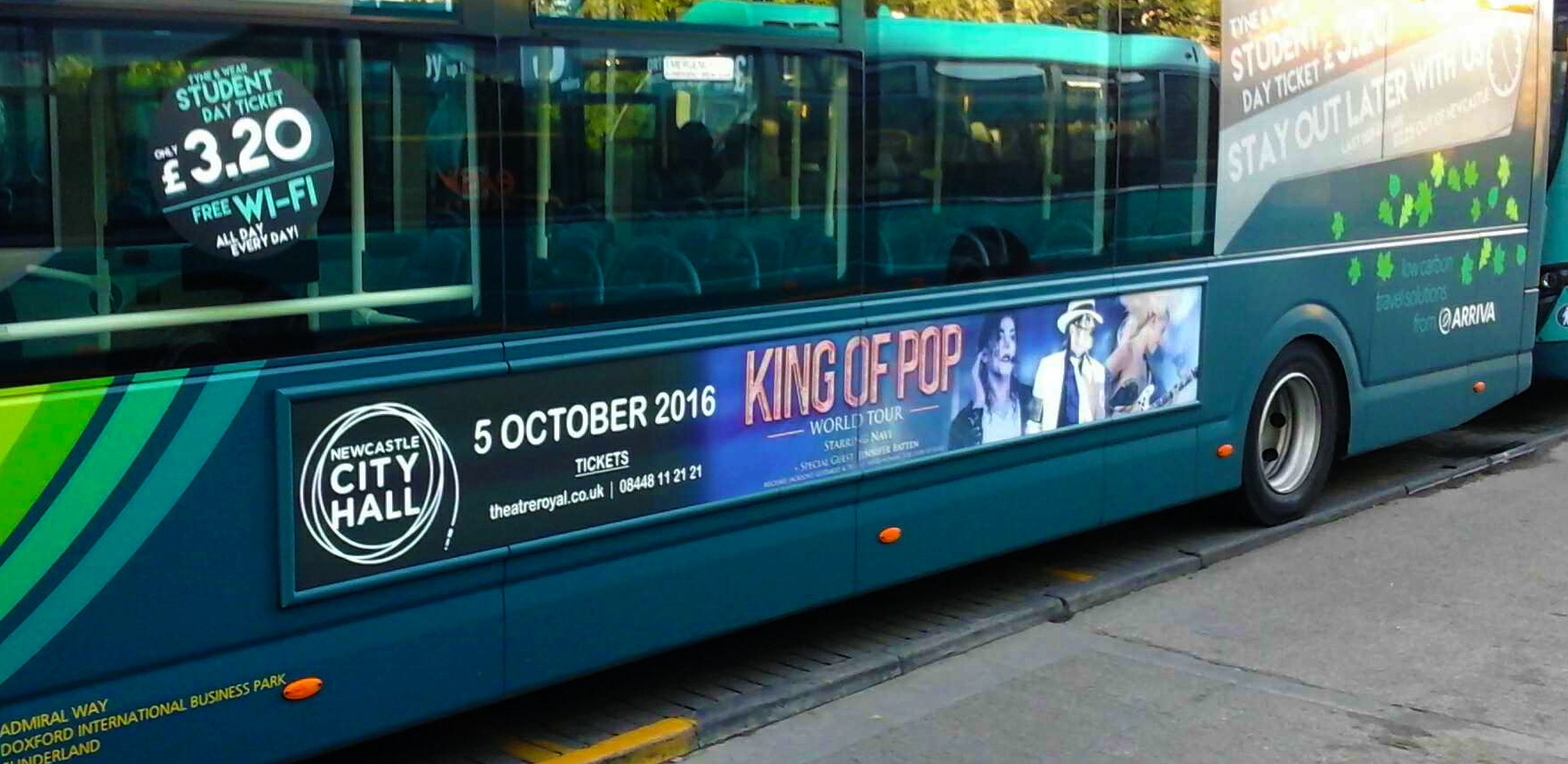 city hall king of pop streetliner sept 2016_2
