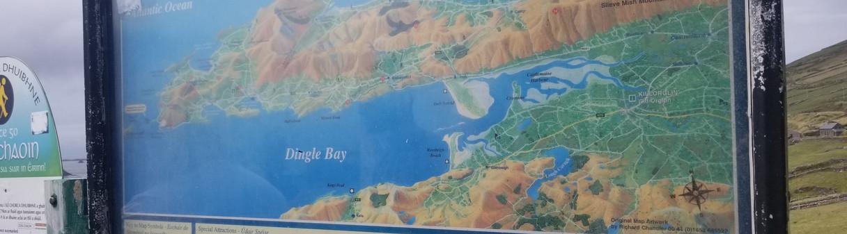 Along Dingle Peninsula