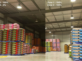 Automated, Dimmable Warehouse Lighting Now A Reality.