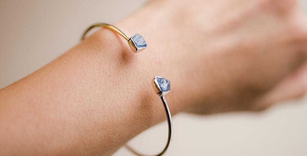 Tanzanite Duo Cuff Bracelet