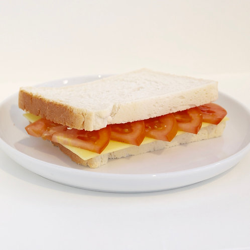 Tomato and Cheese Sandwich