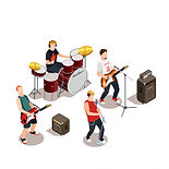 rock-band-isometric-composition_1284-239