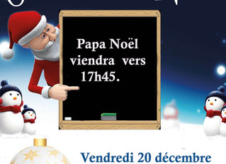 C'est Noël à TOP DANCE ...