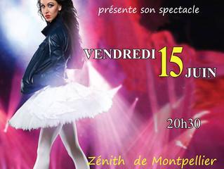 GALA de l'école Vendredi 15 Juin à 20h30 au Zénith de Montpellier