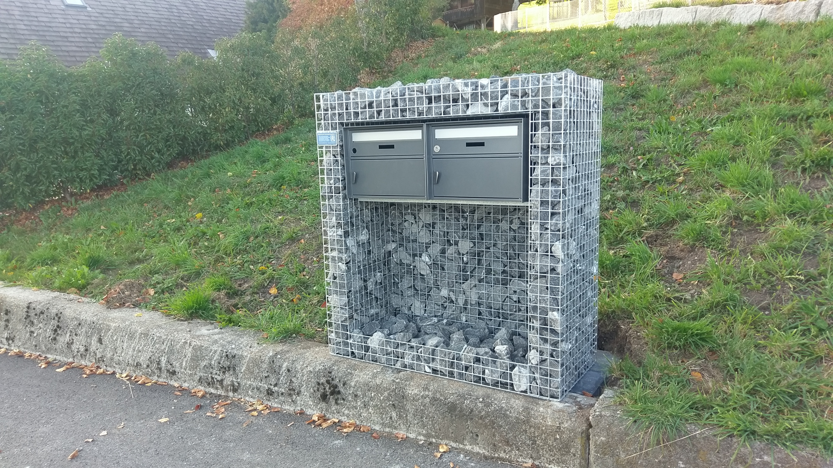 2-Fach Briefkasten