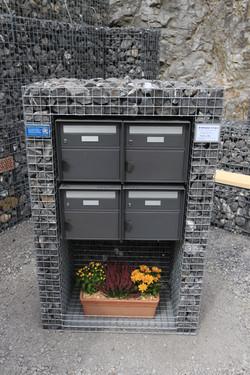 4-Fach Briefkasten