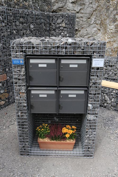 Briefkasten 2 und 4 fach, horizontal ab