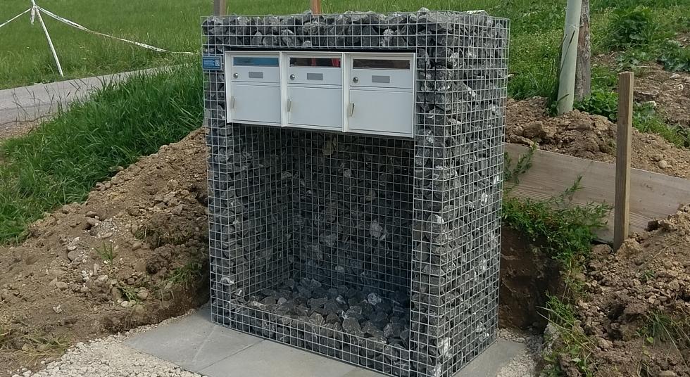 3-Fach Briefkasten