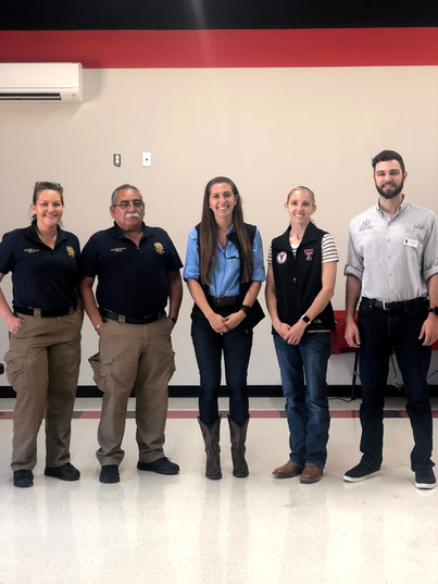 Big Spring Animal Control Officers welcomed to our seminar