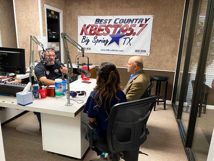 """Thank you KBest Media for having Dr. Sandy Hurwitz and our Texas Tech Ambassador, Donna Balderas, share the great news with all of West Texas 🐾🌵: """"Texas Tech University School of Veterinary Medicine is now open for business"""" The admission process is now beginning. Orientation for the inaugural class is early August of 2021.🤩❤️"""