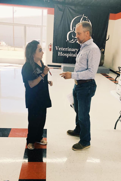 Dr. Britt Conklin & our TTU Ambassador, Donna Balderas