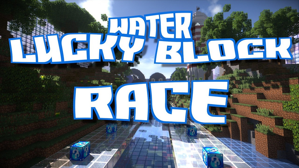 PopularMMOS - Water Lucky Block Race