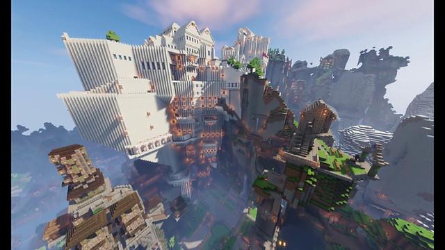 Castle World - An RPG Adventure for Custom NPC Mod