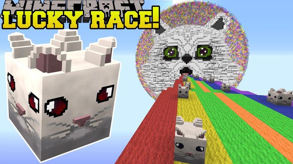 PopularMMOS - Savage Cloud Lucky Block Race