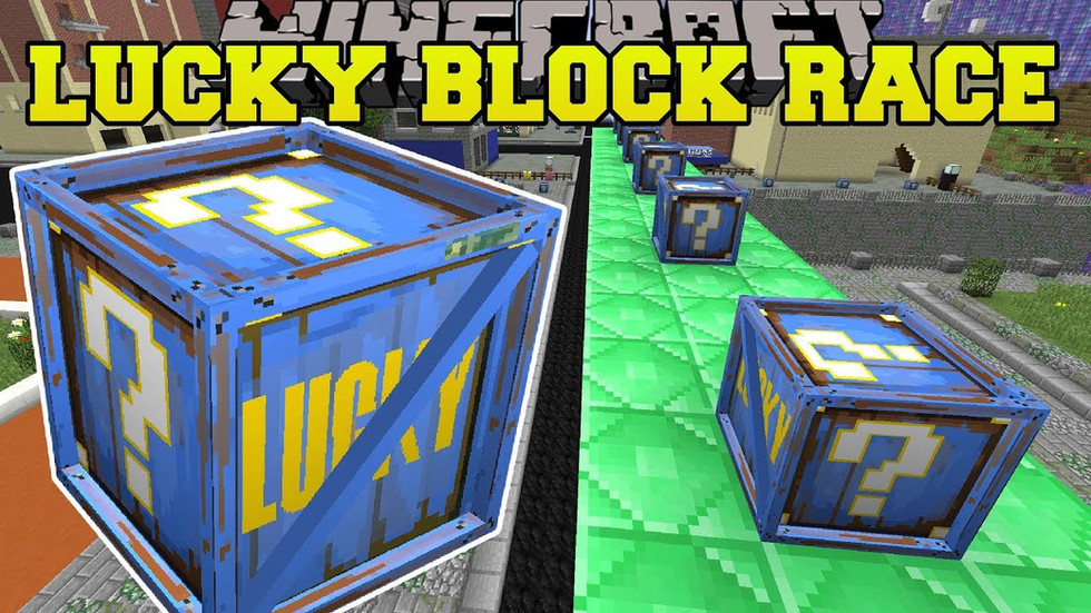 PopularMMOS - Fortnite Lucky Block Race