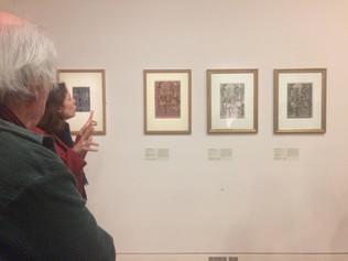 """Visite de l'exposition """"Gravure en clair-obscur Cranach, Raphaël, Rubens…""""(Paris, Musé"""