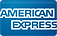 The words American Express. An alternative method of payment for US citizens, or those with an American Express card.