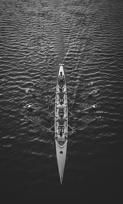 Rowing Crew Boat