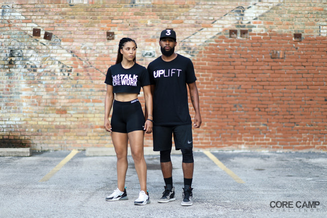 Less Talk More Work & Up Lift Unisex T-Shirts