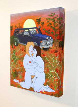 XXX Bush Kiss (side view)