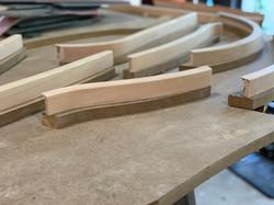 Custom Cherry Wood Stair Nosing