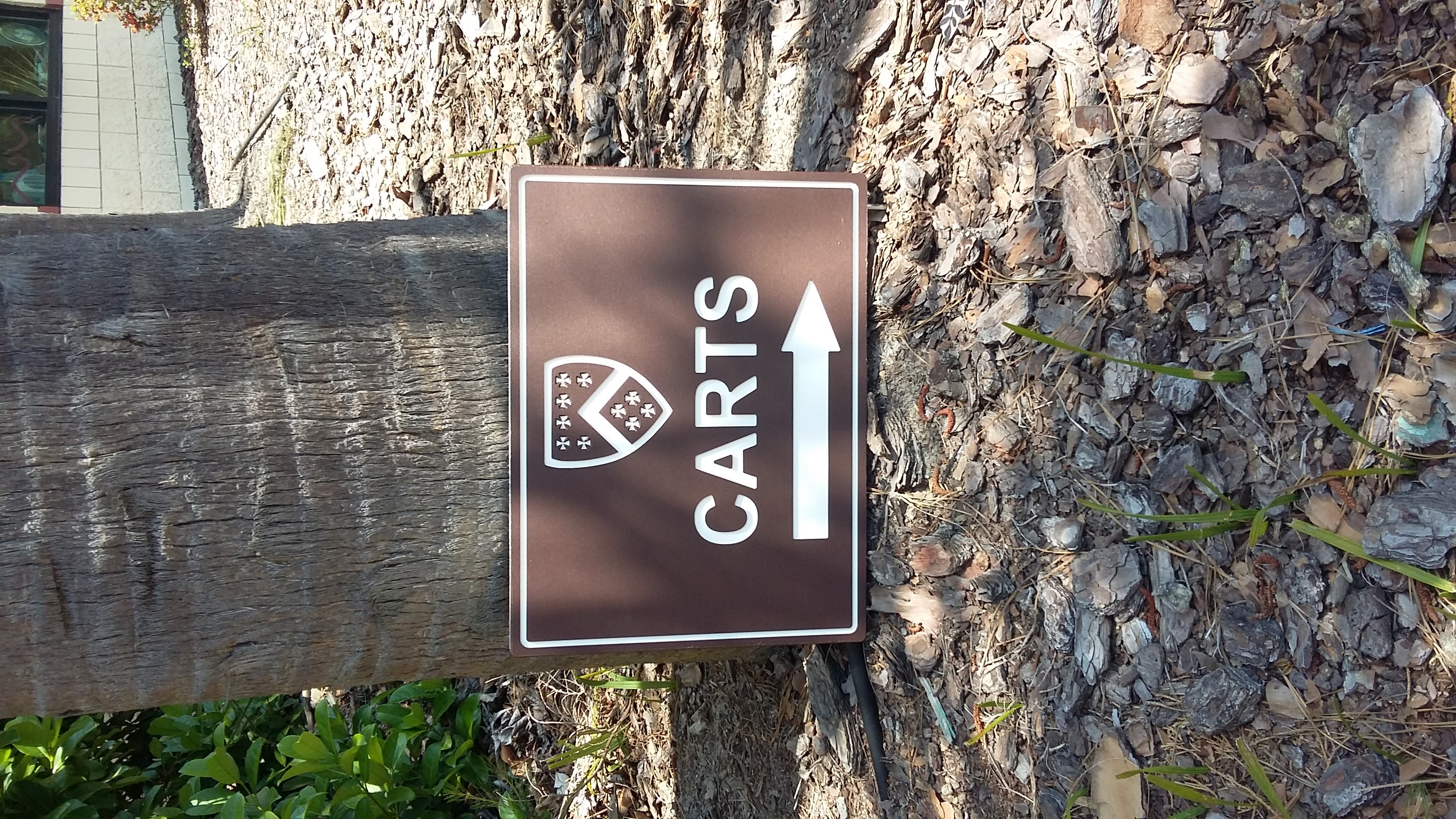Custom Directional Golf Signs