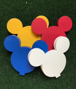 Mickey Mouse Golf Tee Markers