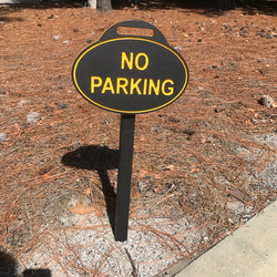 No Parking Removable Sign