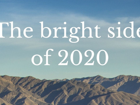The bright side of 2020