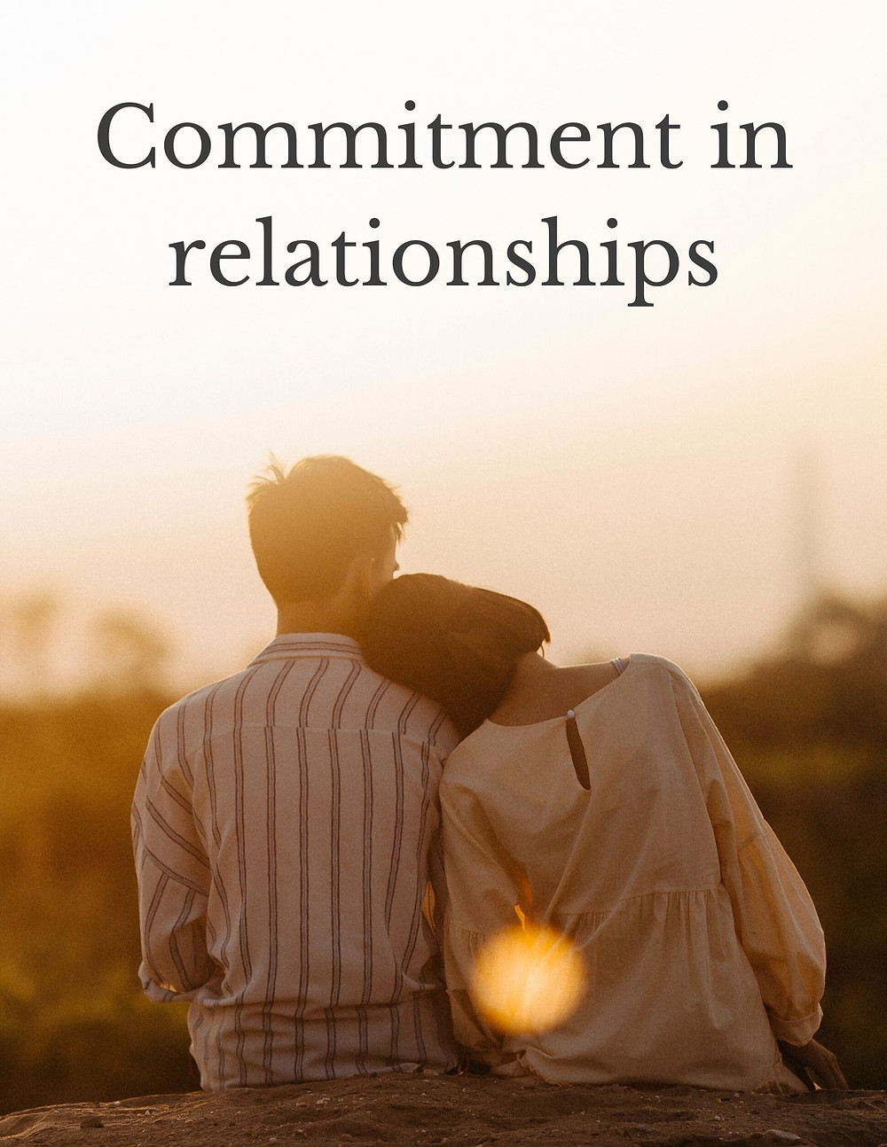 Commitment in relationships