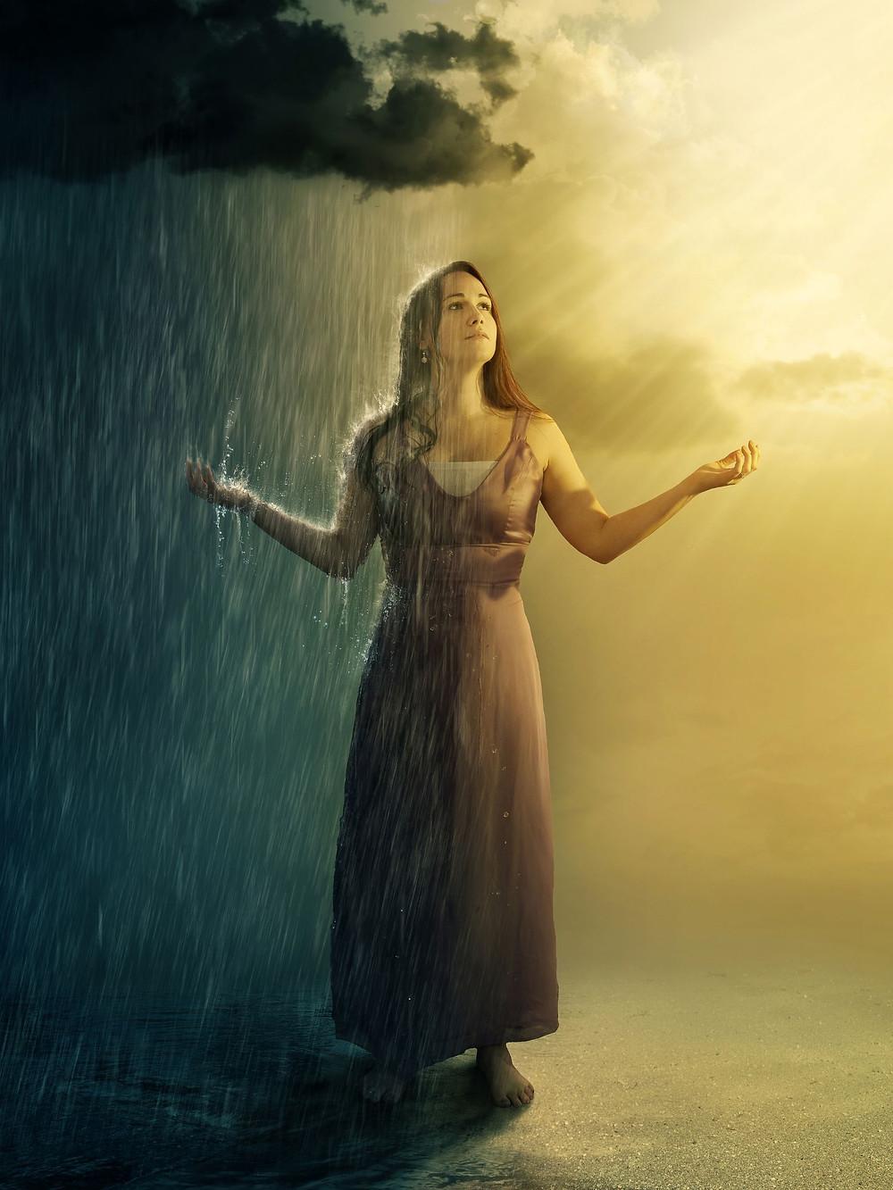 It will rain and it will shine