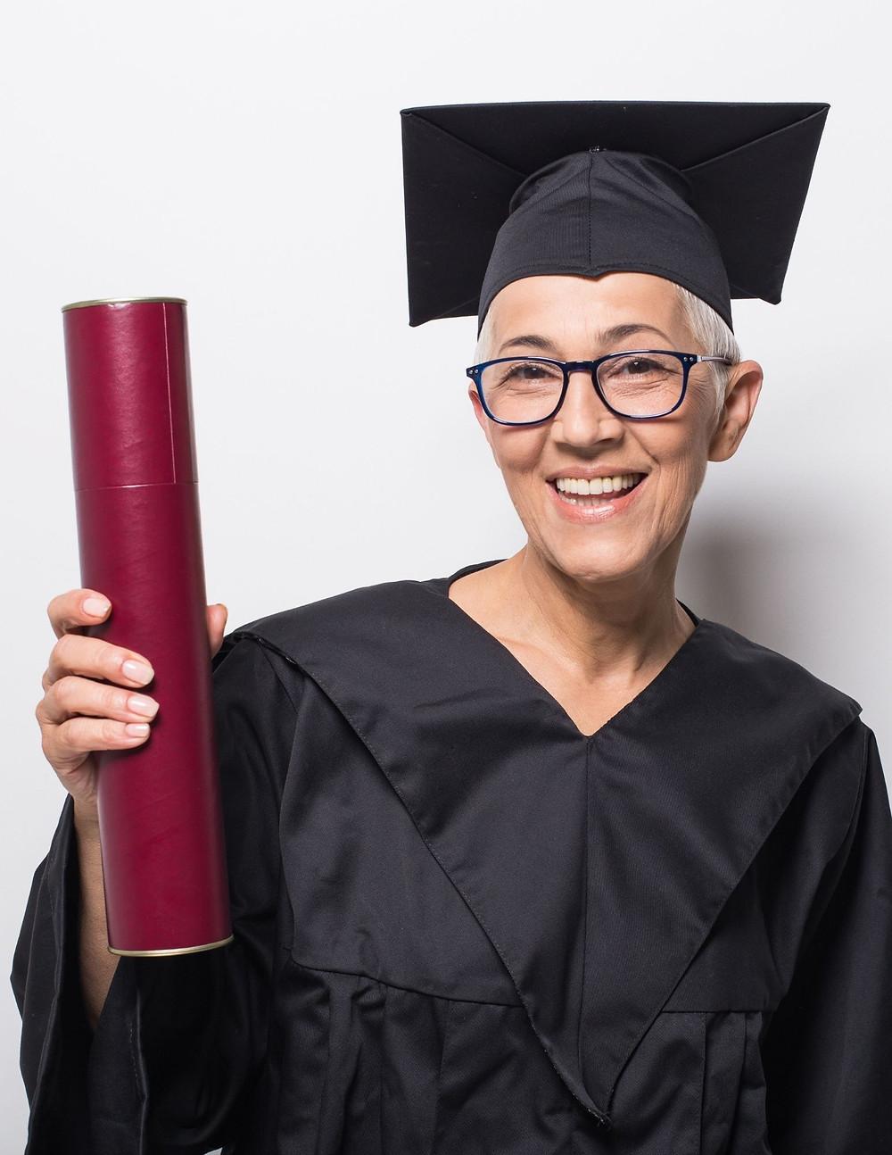 Older student