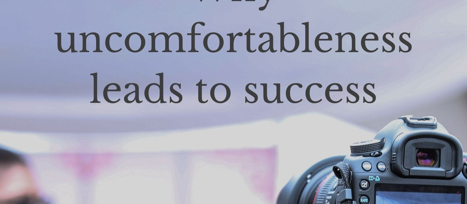 Why uncomfortableness leads to success