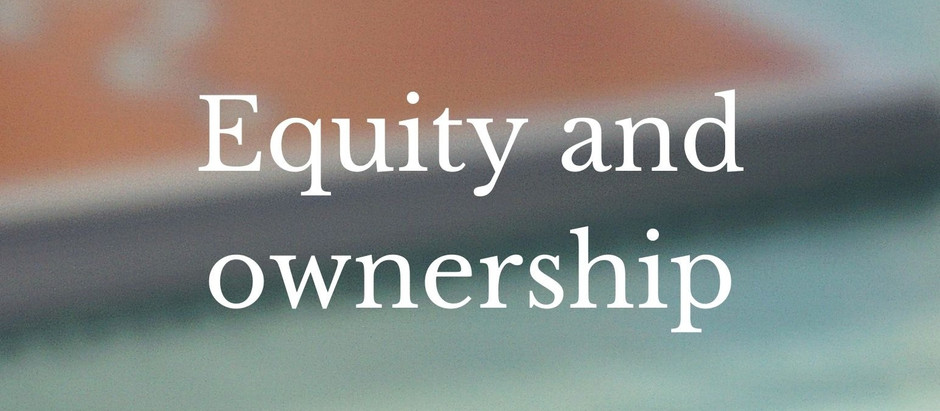 Equity and ownership