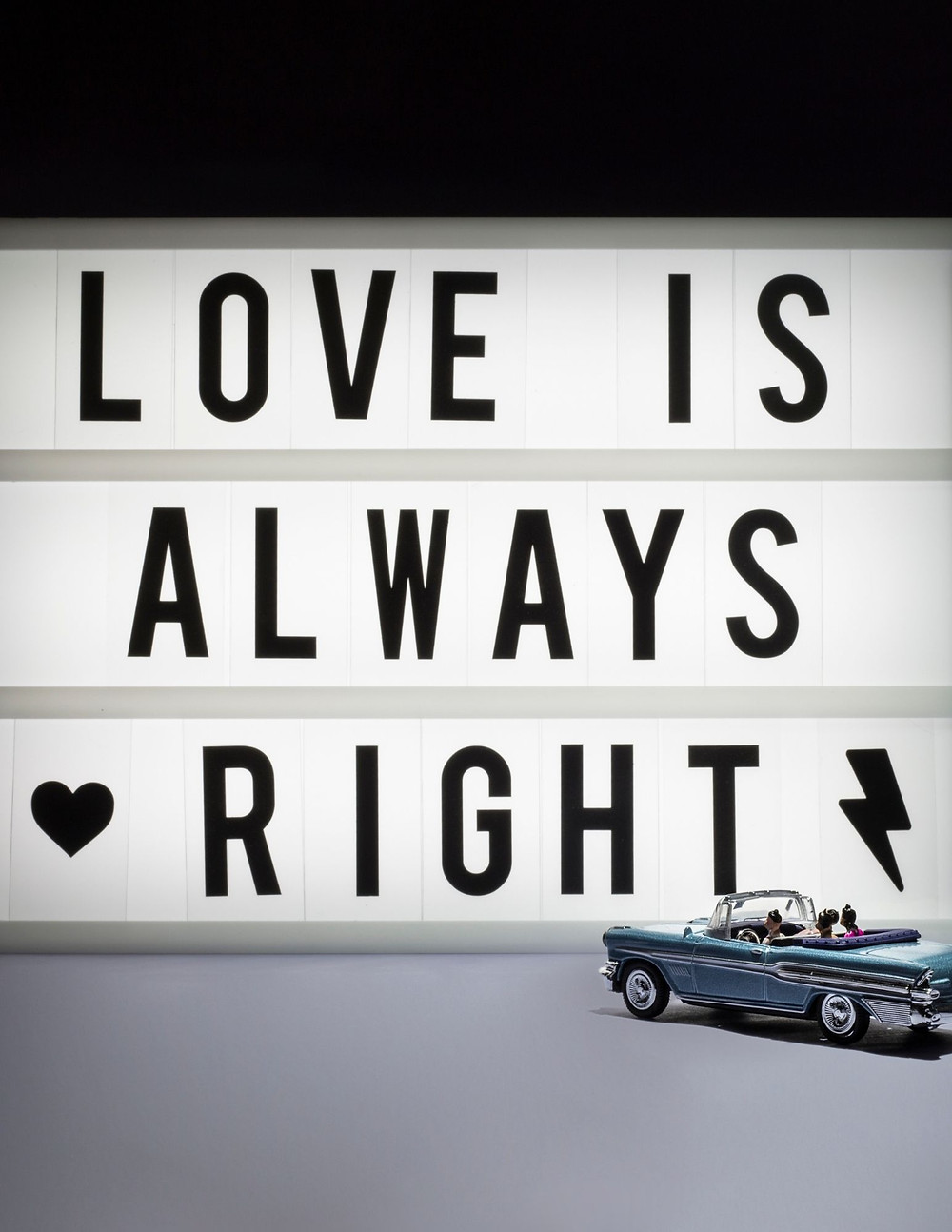 Love is always right