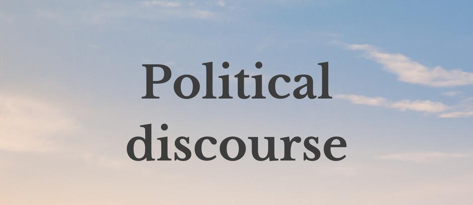 Political discourse