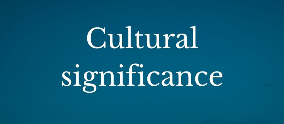 Cultural significance